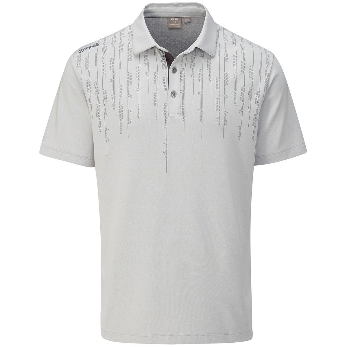 カーボン 半袖ポロシャツ