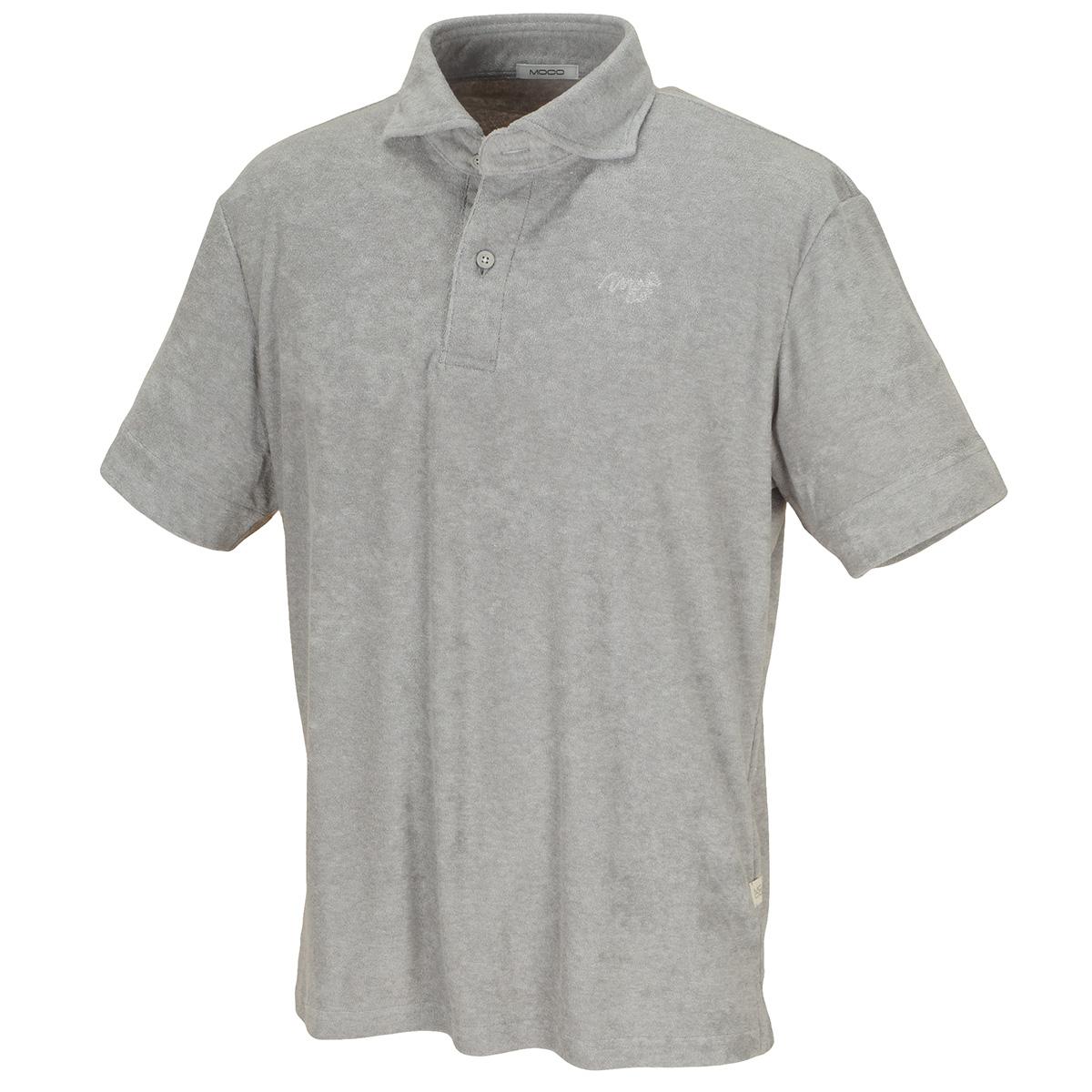 クールVパイル半袖ポロシャツ