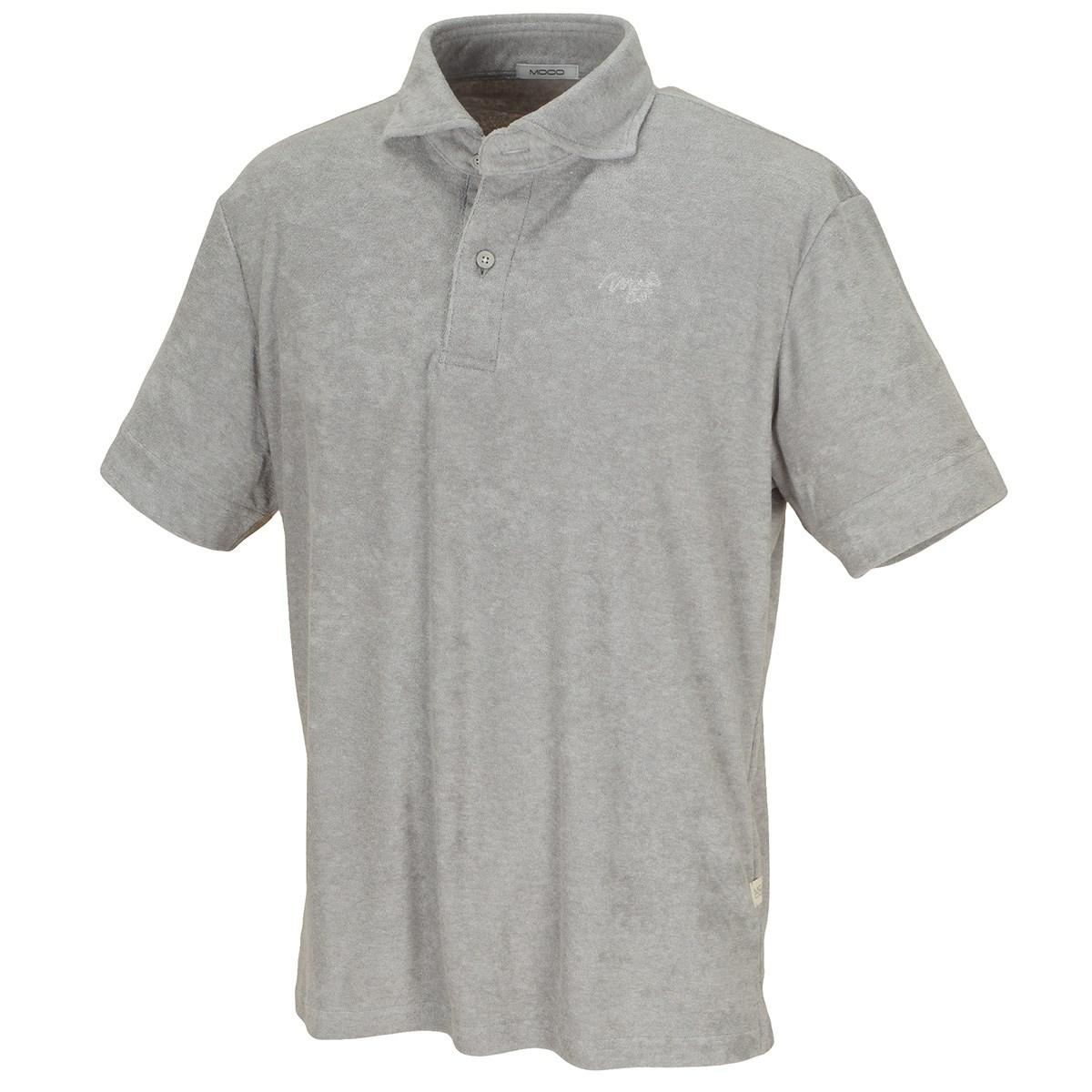 モコ クールVパイル半袖ポロシャツ
