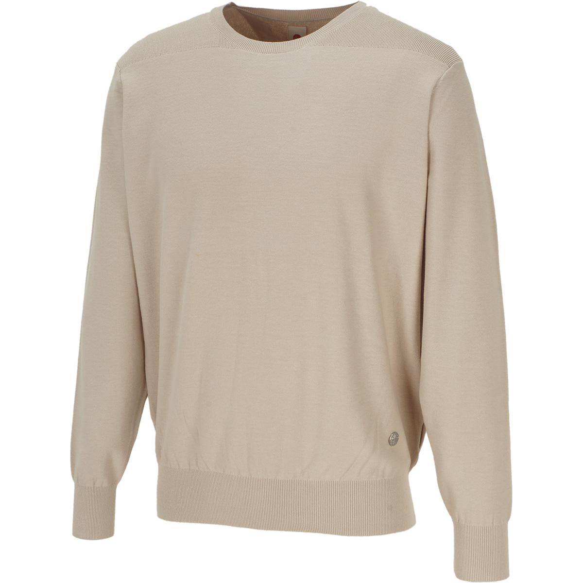 ハイツイストコットン 長袖セーター