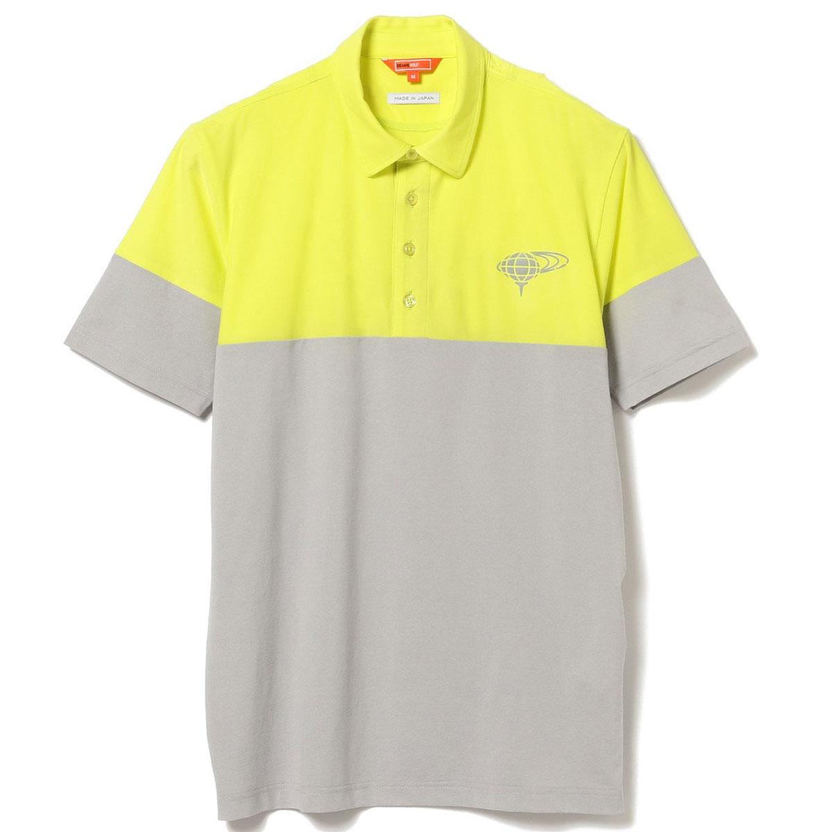 BEAMS GOLF ORANGE LABEL チェンジ オーバー ポロシャツ