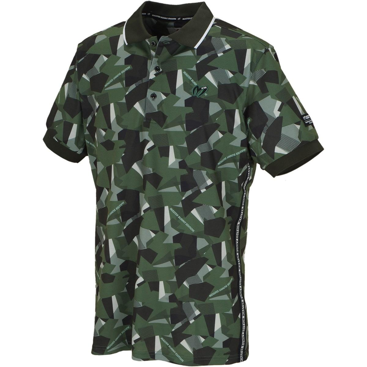 マスターバニーエディション デジカモプリント プレミアムTEX 半袖ポロシャツ