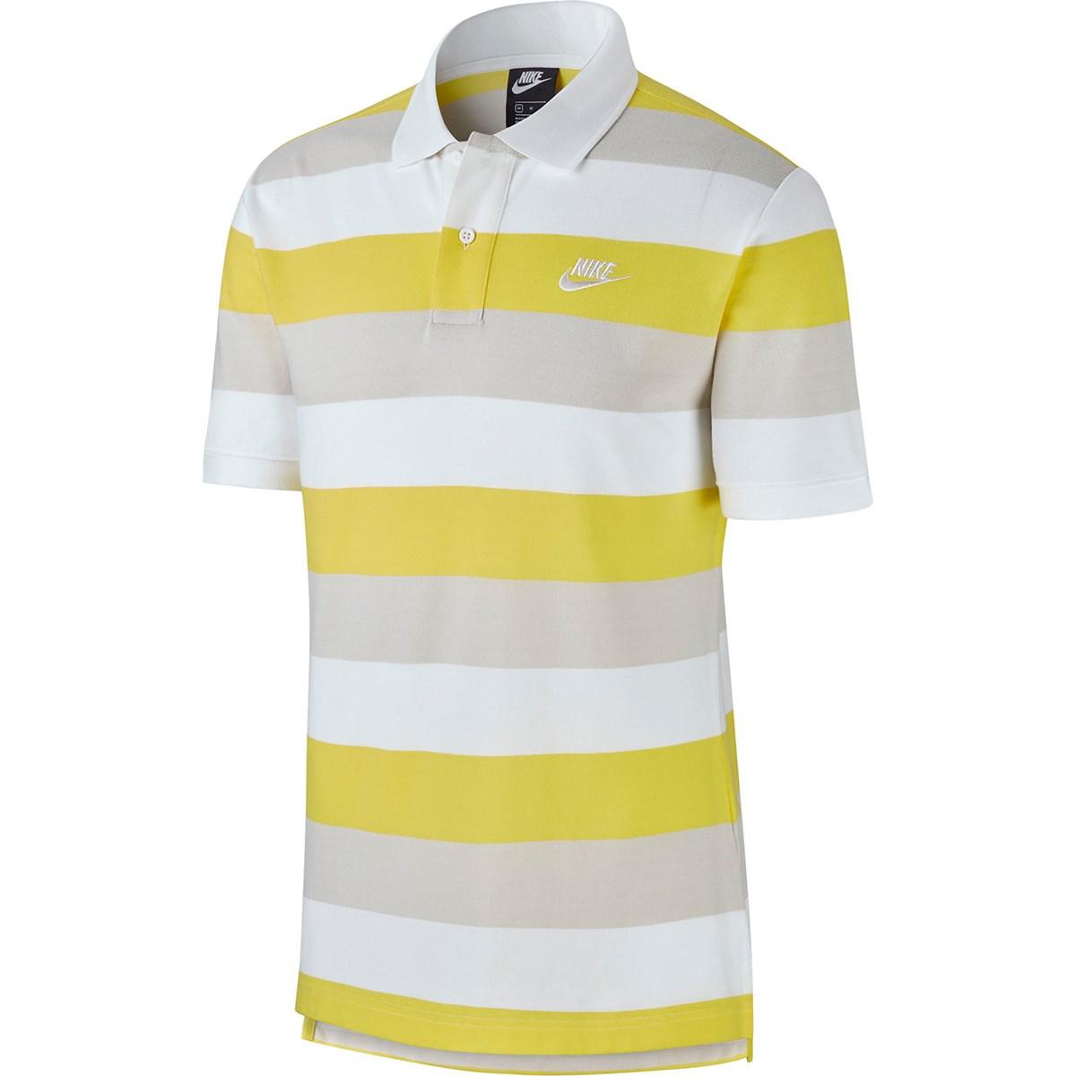 ナイキ(NIKE) マッチアップストライプ半袖ポロシャツ