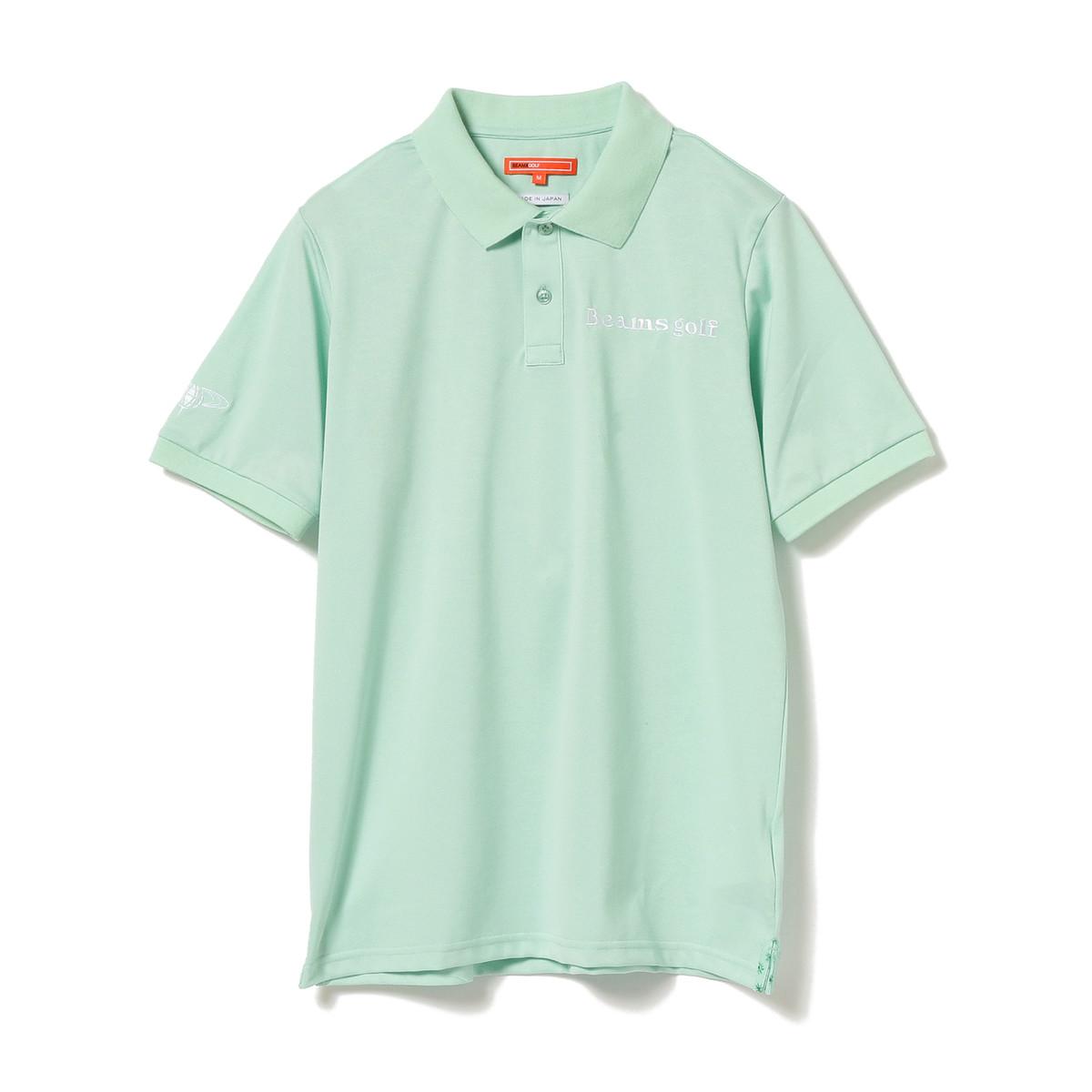 BEAMS GOLF ORANGE LABEL デオセル鹿の子 ポロシャツ