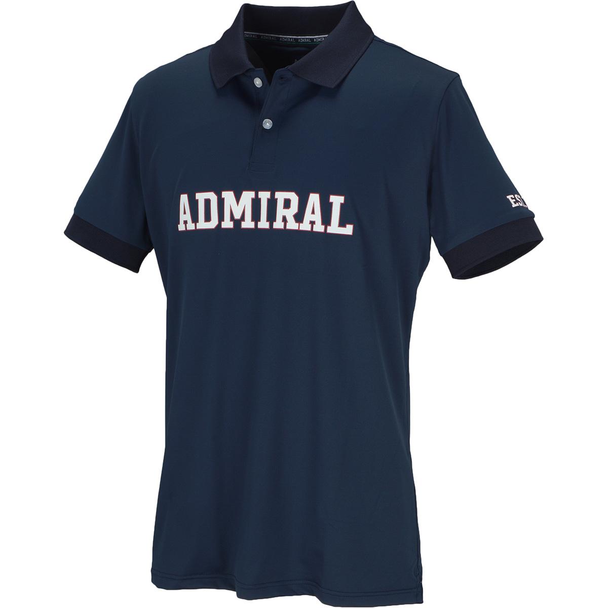 GDO限定 ADMIRAL LOGO 半袖ポロシャツ