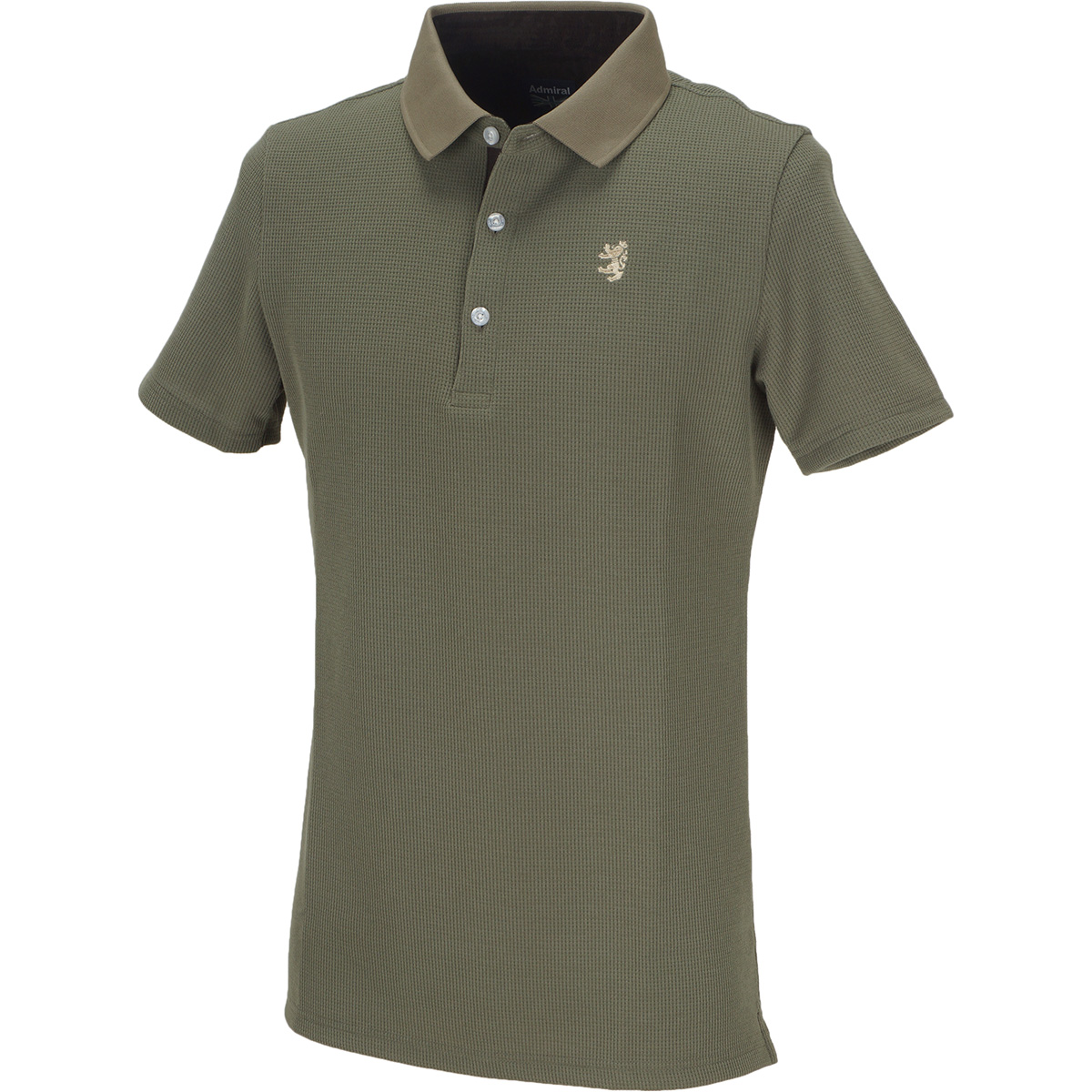 GDO限定 ワッフル半袖ポロシャツ