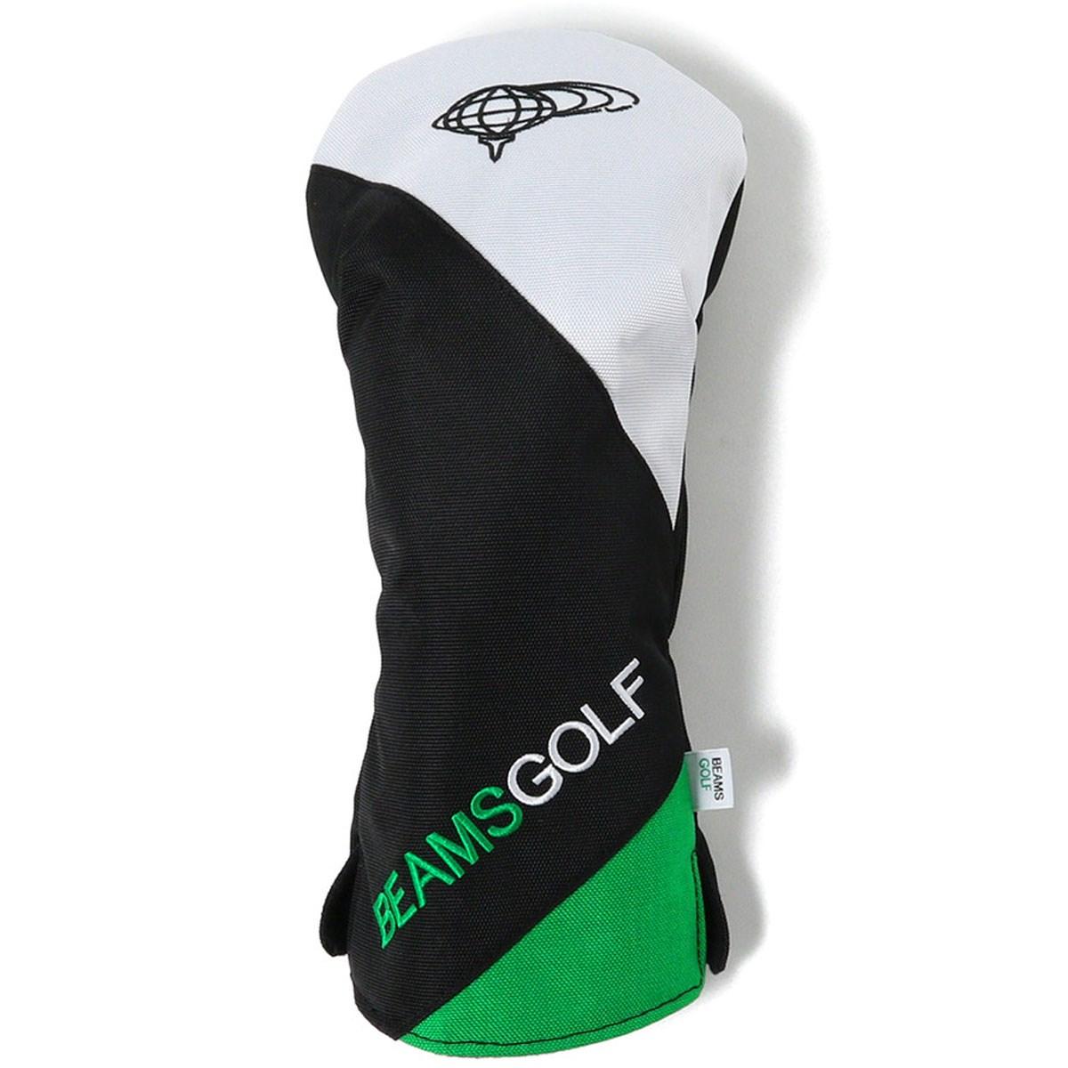 ビームスゴルフ BEAMS GOLF スラッシュ 切り替え ヘッドカバー DR用