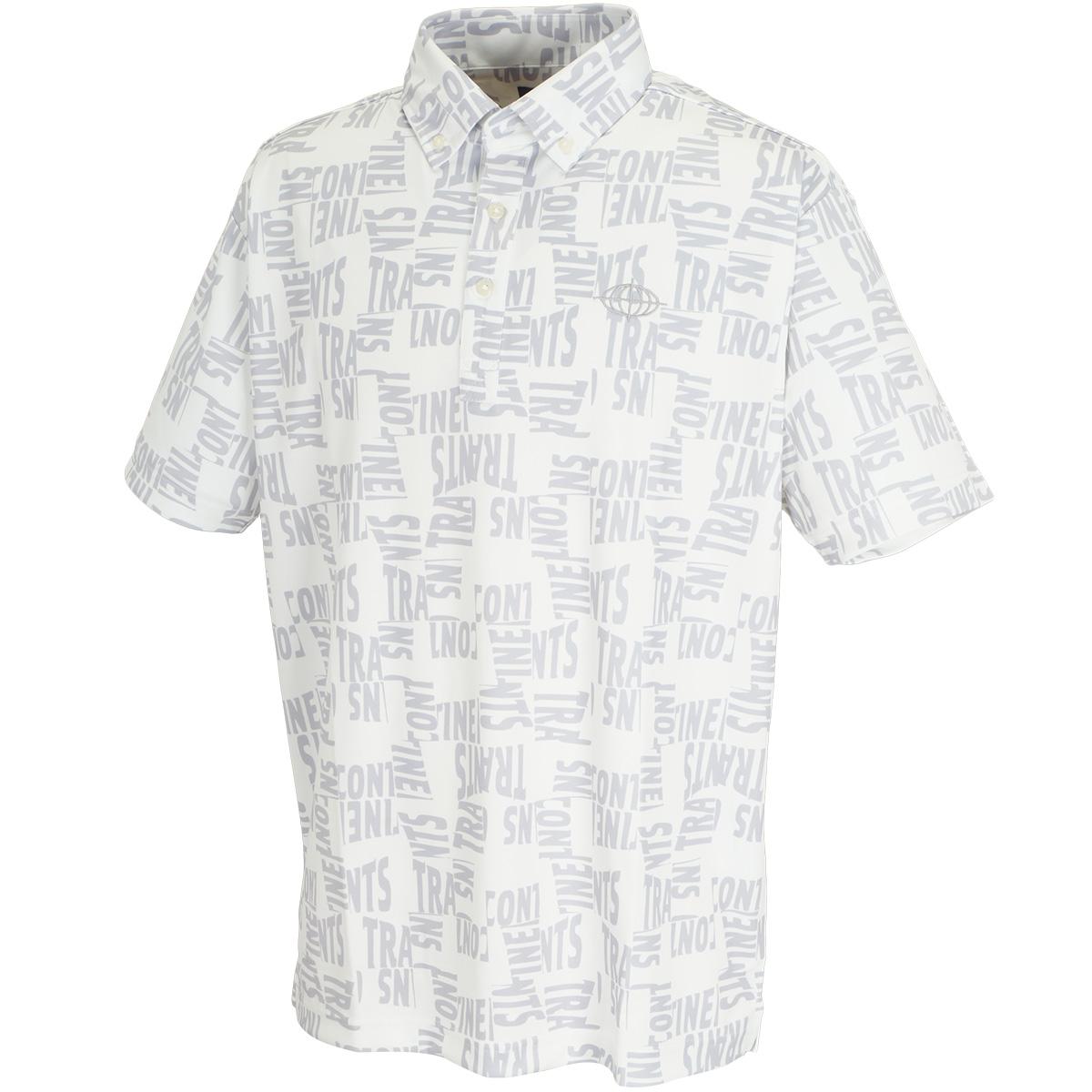ゴルフロゴプリント 半袖ポロシャツ