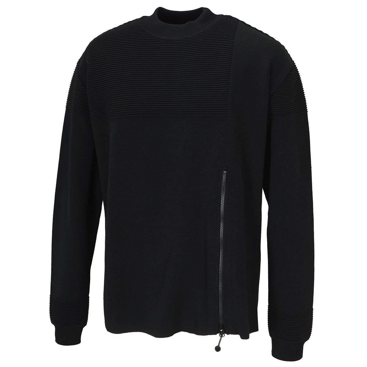 ミラノリブ クルーネックセーター