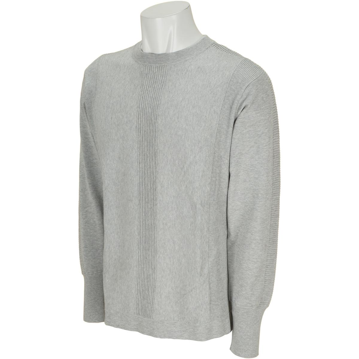 ドライコットン クルーネックセーター