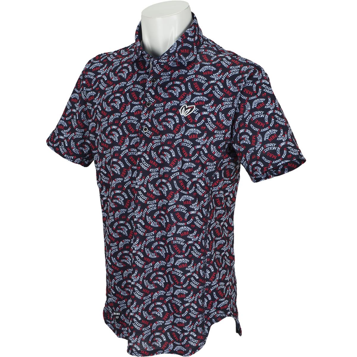 サークルロゴプリント プレミアムTEX半袖ポロシャツ