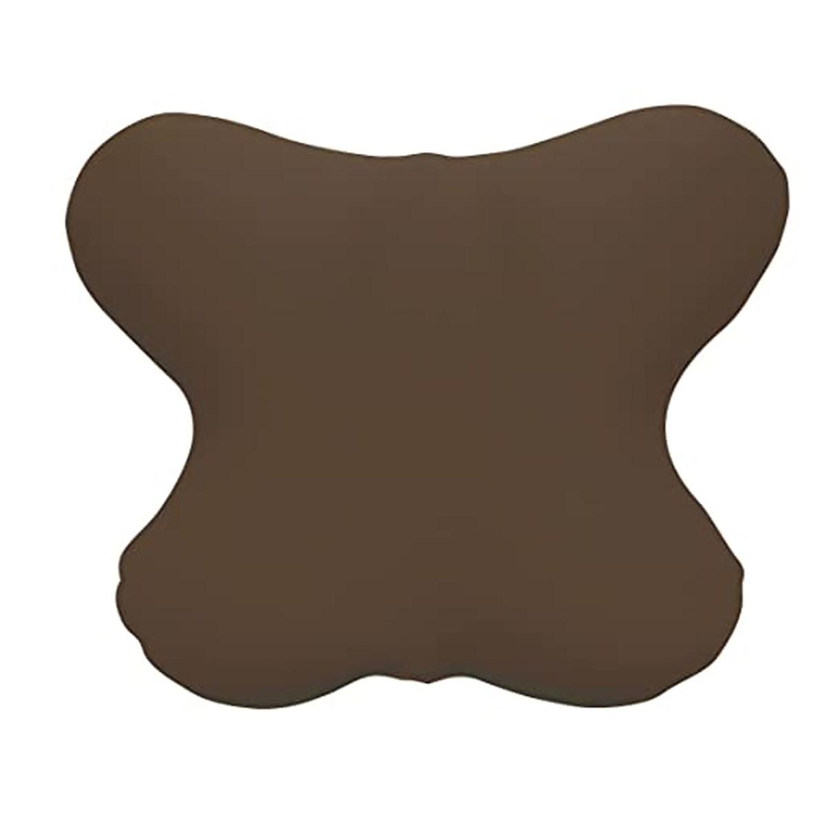 MOGU カバー付き バタフライクッション ブラウン