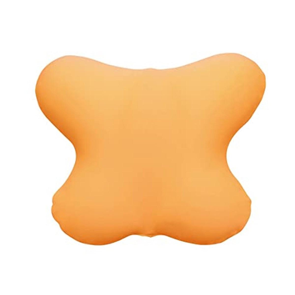 MOGU カバー付き バタフライクッション オレンジ