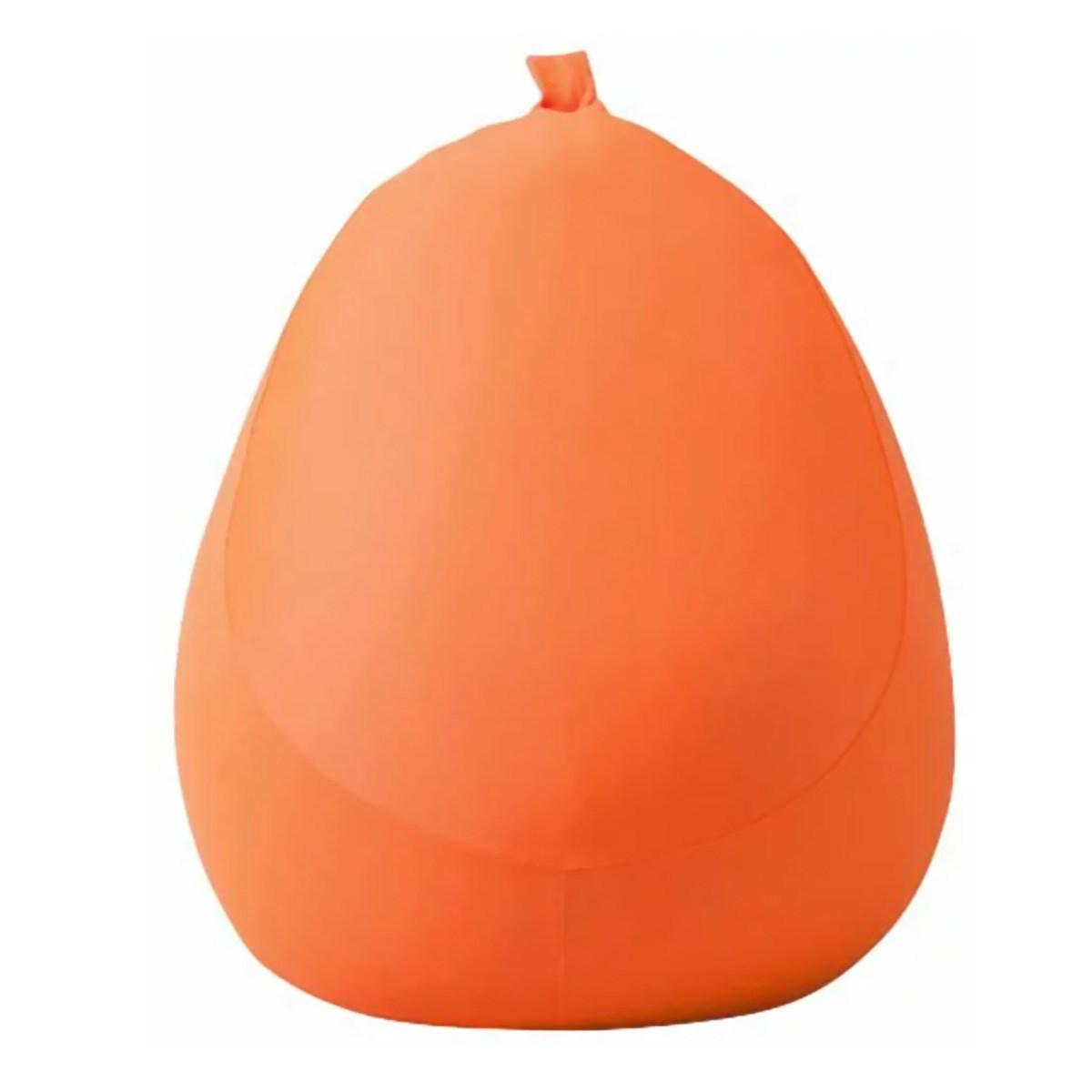MOGU カバー付き フィットチェア オレンジ