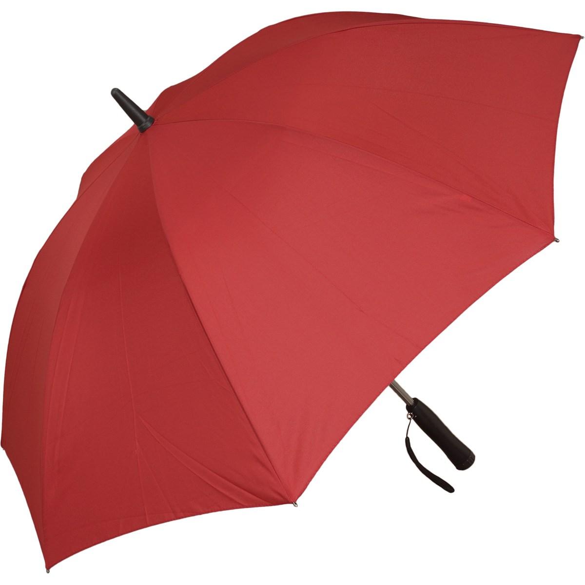 扇風機付き傘 レッド