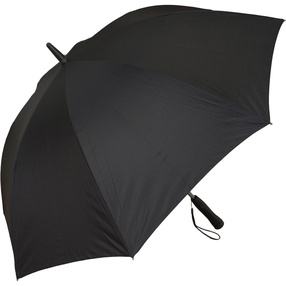 扇風機付き傘 ブラック