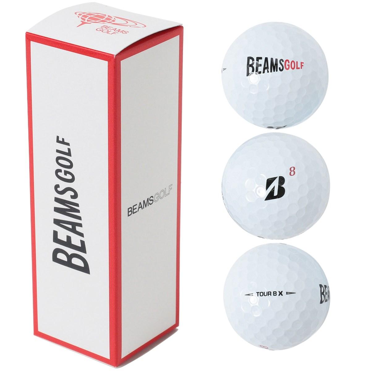 ビームスゴルフ BRIDGESTONE GOLF×BEAMS GOLF ゴルフボール Tour B X