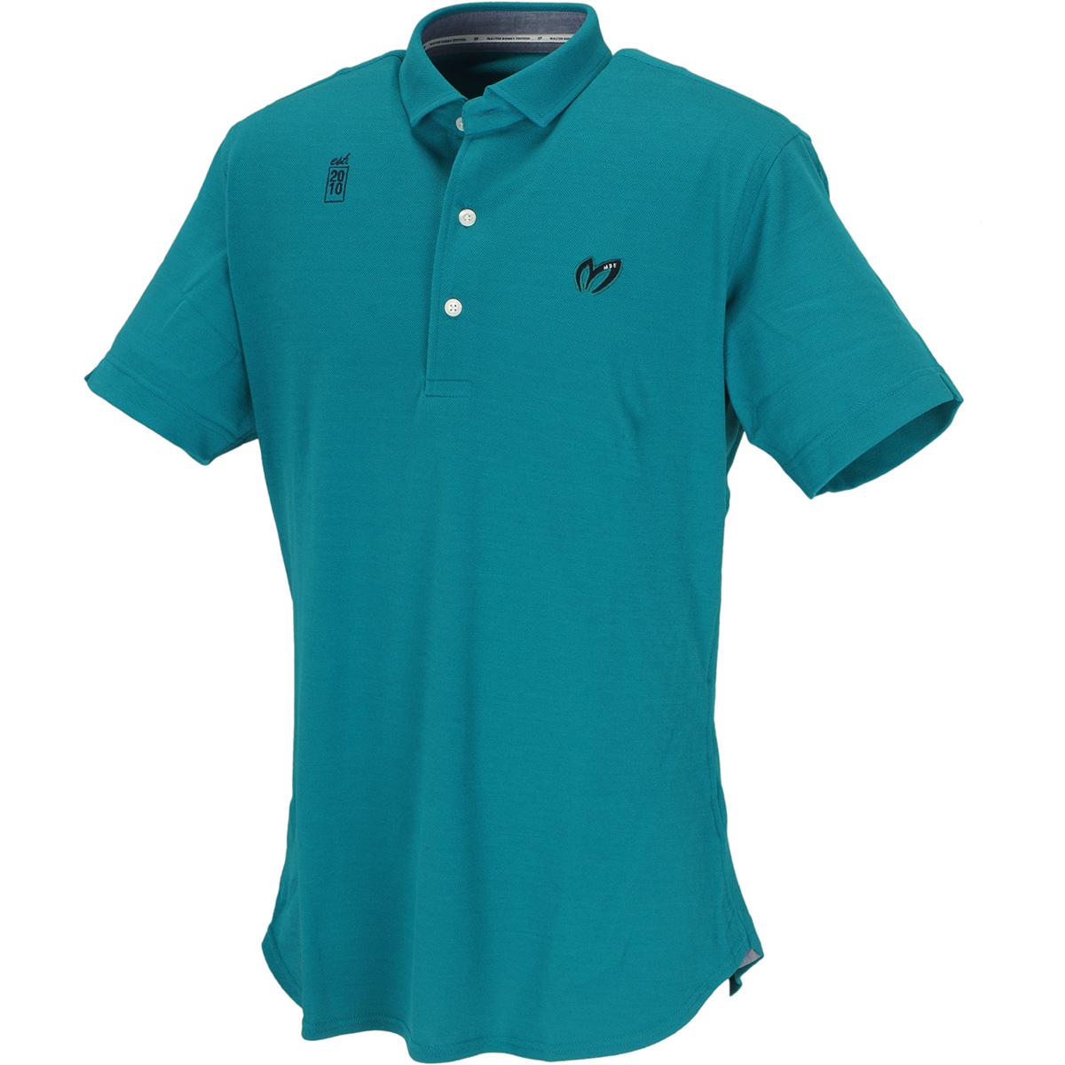 MVSベア鹿の子半袖ポロシャツ