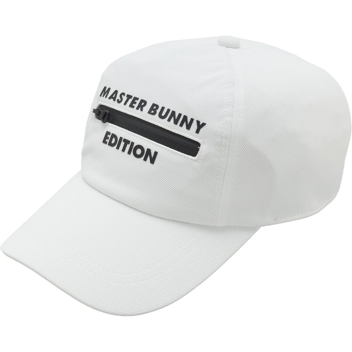 マスターバニーエディション MASTER BUNNY EDITION ファスナー付きキャップ フリー ホワイト 030