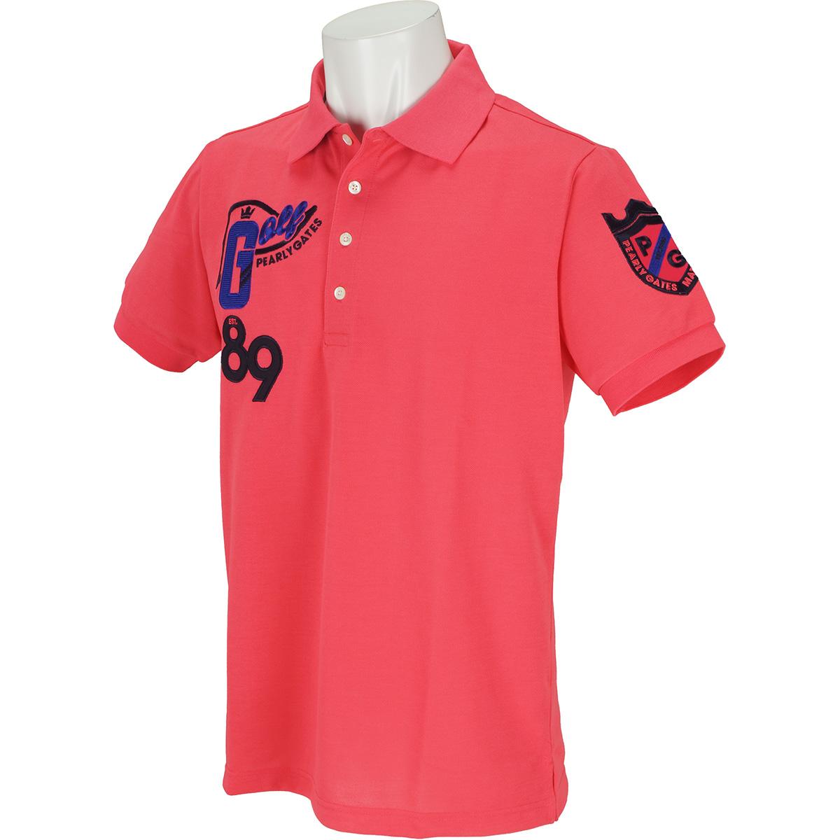 トライクール 引揃4口鹿の子 半袖ポロシャツ