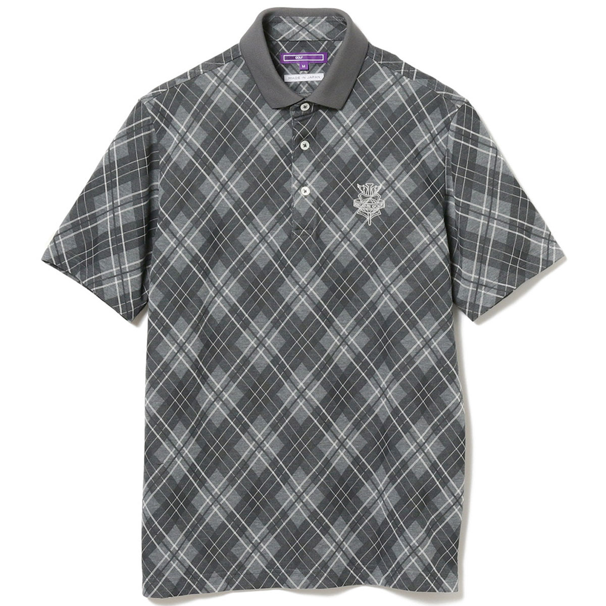 BEAMS GOLF PURPLE LABEL ARGYLE ポロシャツ