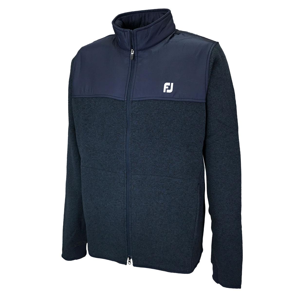 4WAYストレッチ セーターフリースジャケット