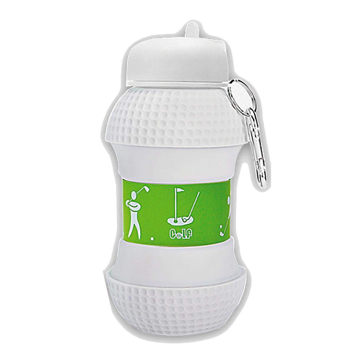 ホクシン交易 ゴルフボール型シリコン水筒