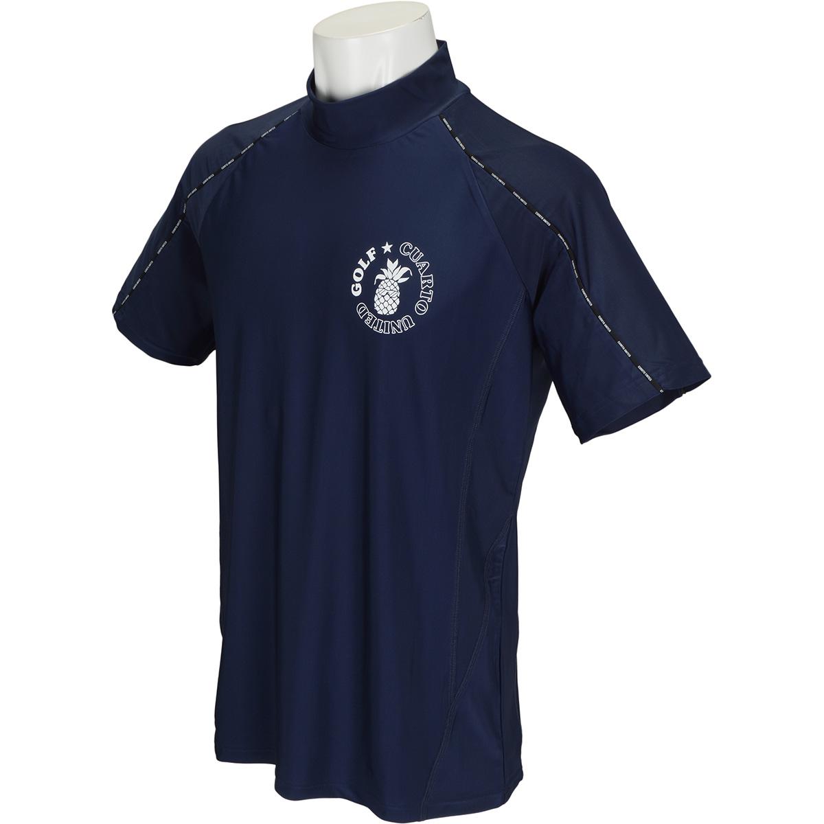 ロゴパイピング 半袖インナーシャツ