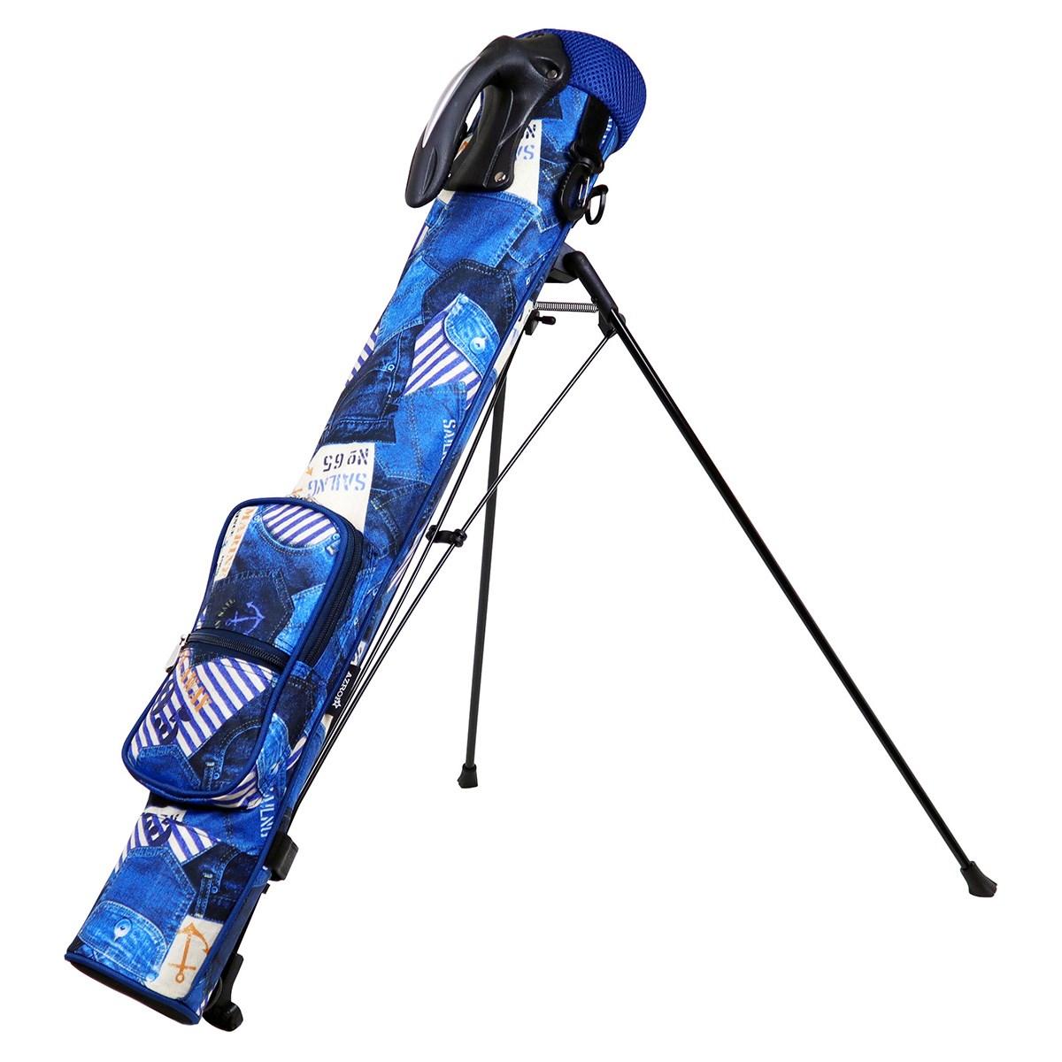 AZROF アズロフ スタンドクラブケース セーリングブルー セーリングブルー