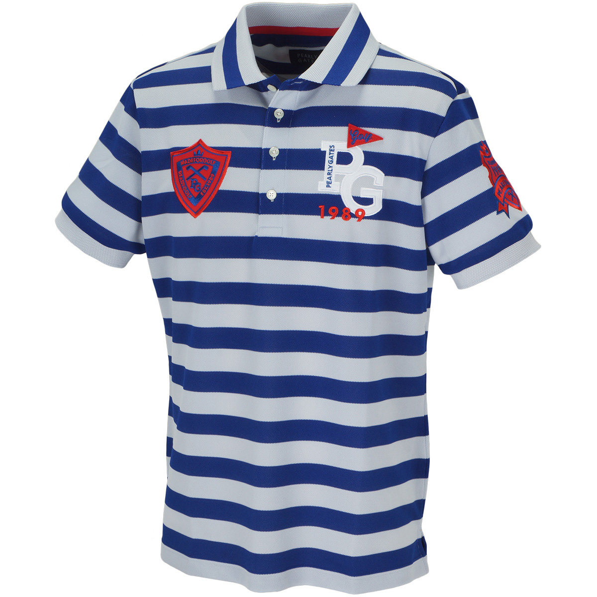 アロフト 6口鹿の子 ボタンダウン半袖ポロシャツ