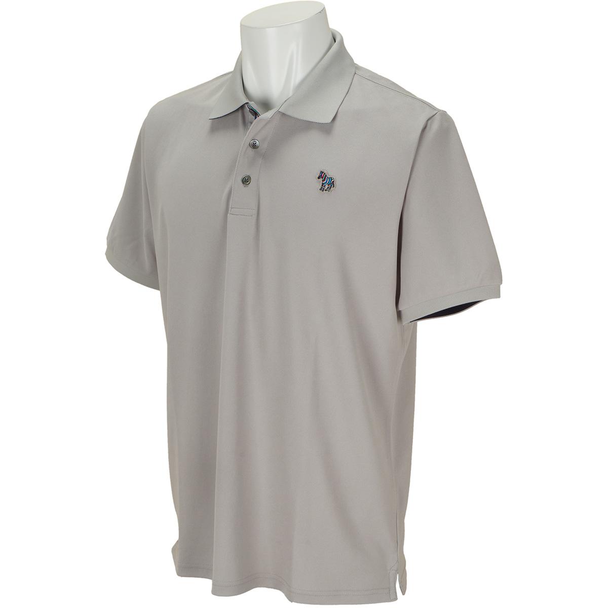 ゼブラワッペン 半袖ポロシャツ