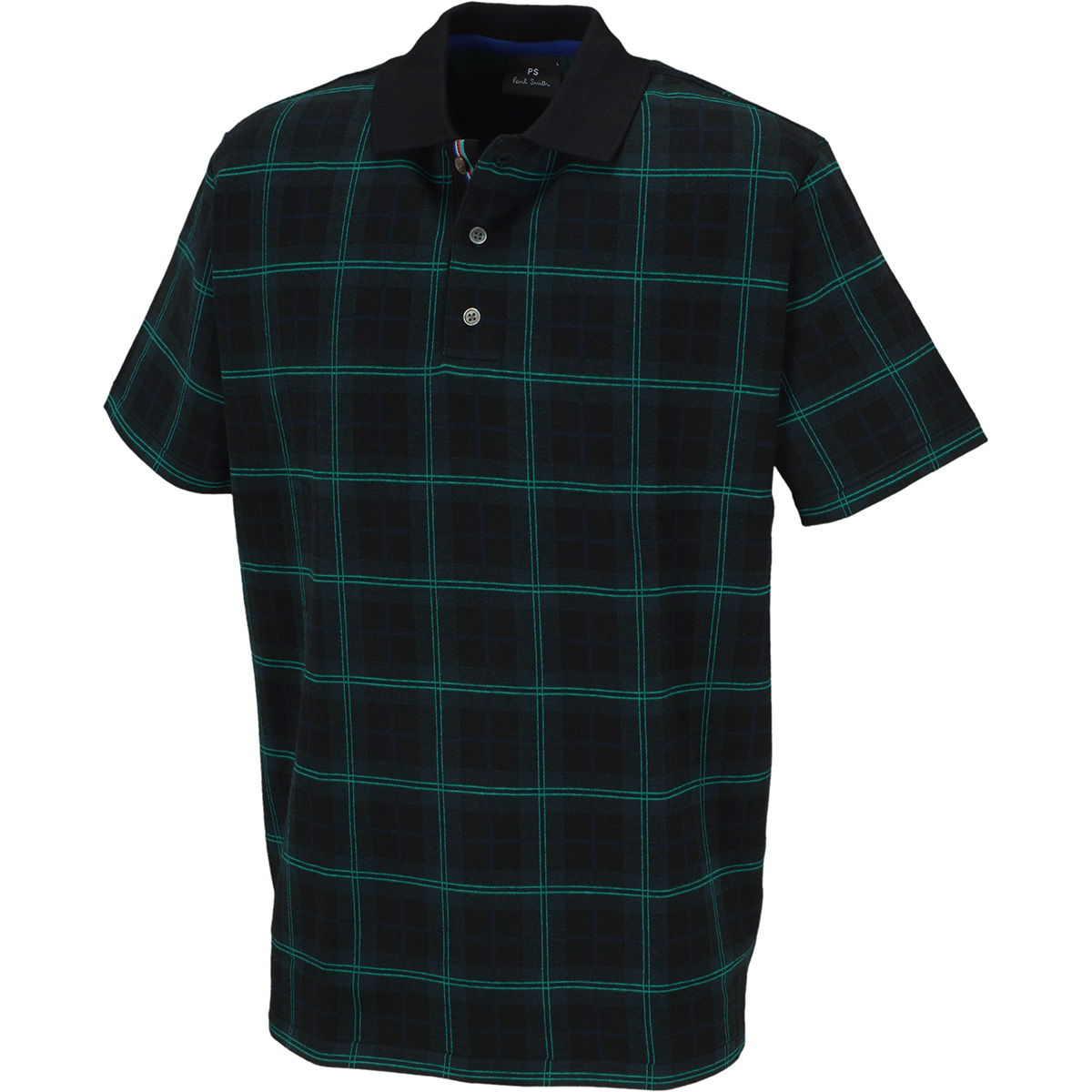 オリジナルチェック 半袖ポロシャツ