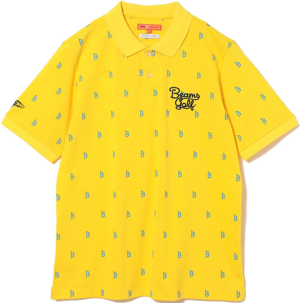 BEAMS GOLF ORANGE LABEL BT総柄 ポロシャツ 2020 FW