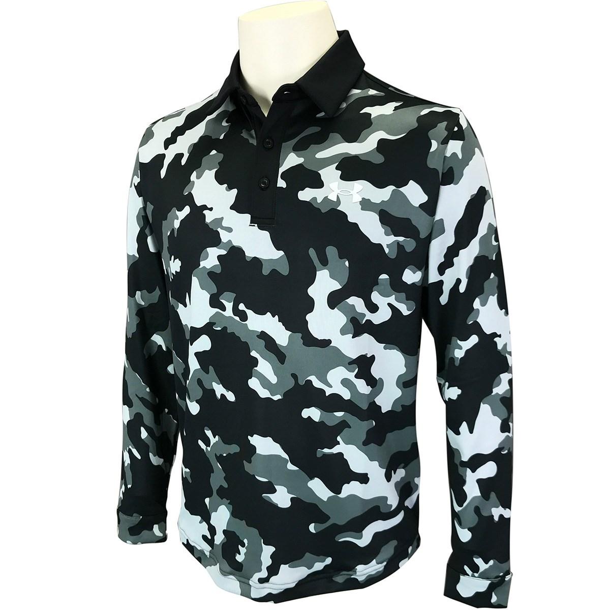 アンダーアーマー(UNDER ARMOUR) UA プレイオフ2.0 カモ 長袖ポロシャツ