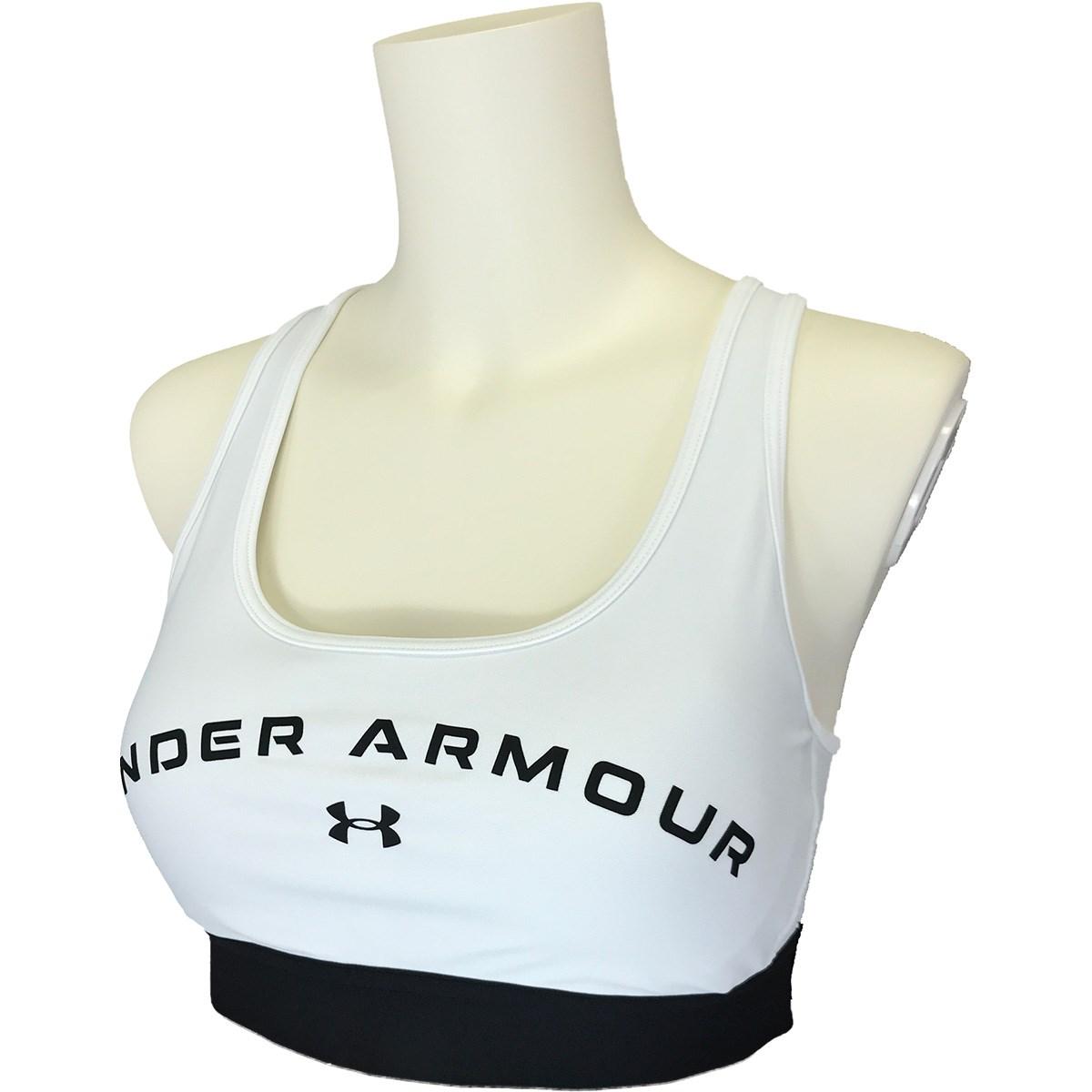 アンダーアーマー Under Armour UA クロスバック ミッドグラフィック ブラ SM White レディス