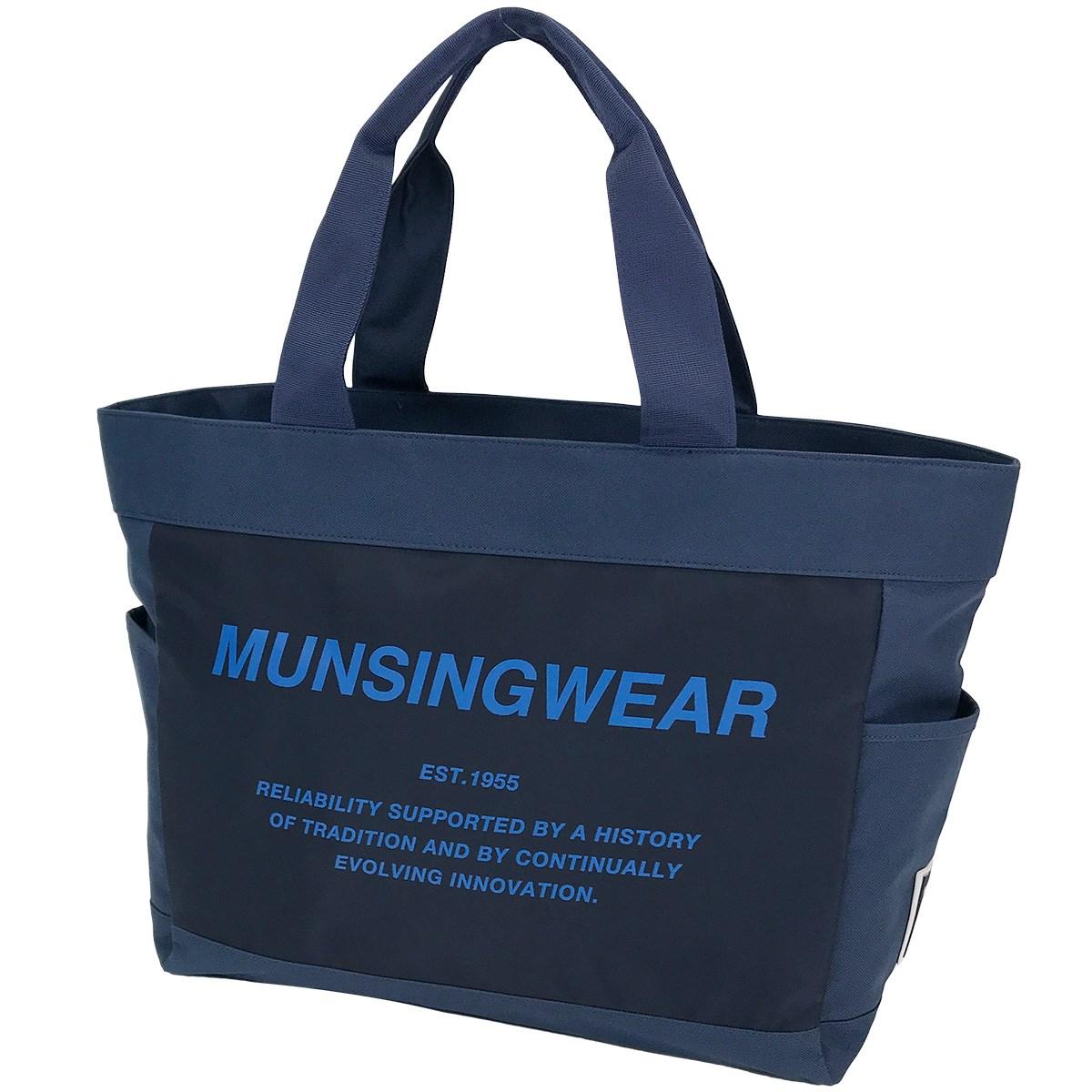 マンシングウェア Munsingwear ボストンバッグ ネイビー 00