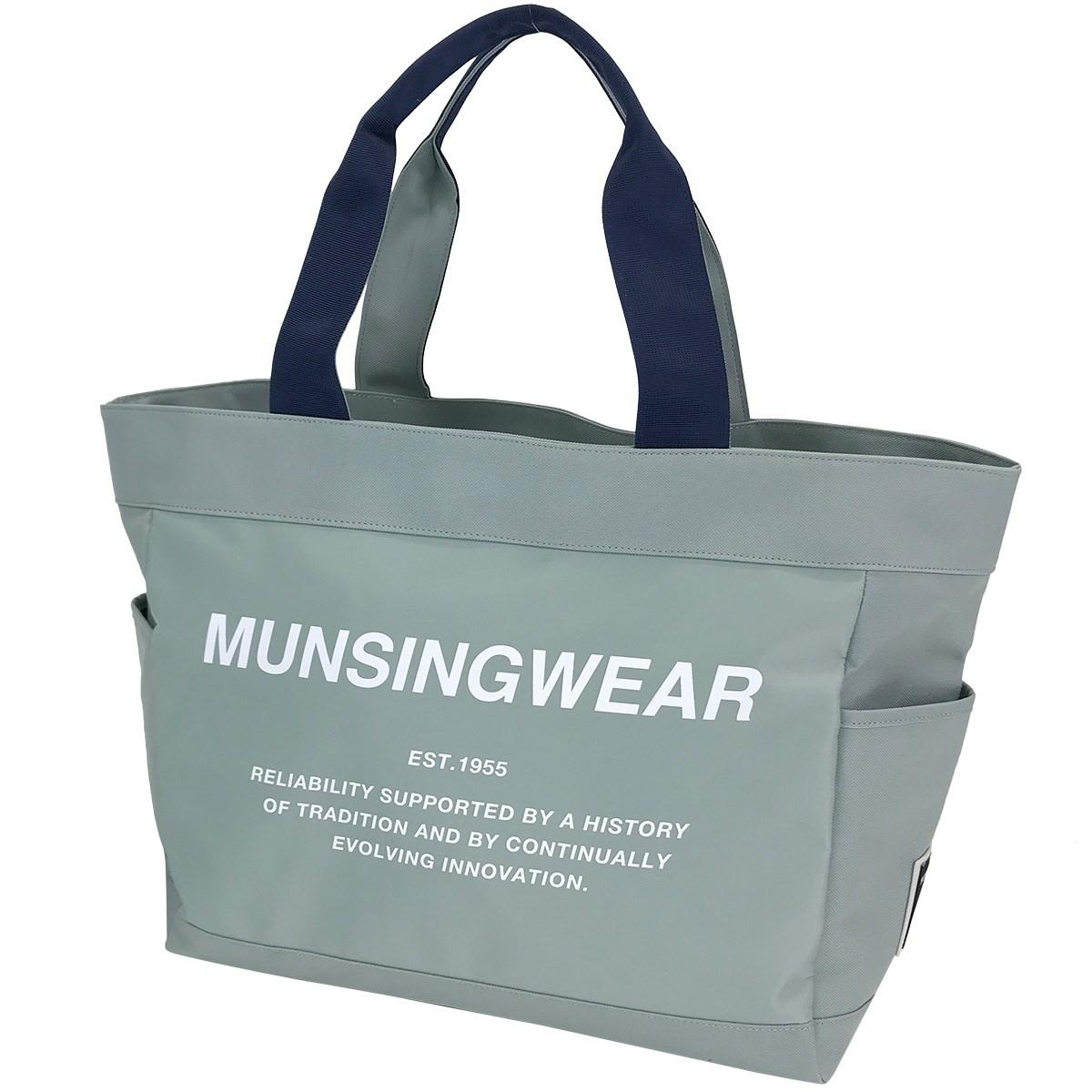 マンシングウェア Munsingwear ボストンバッグ グレー 00