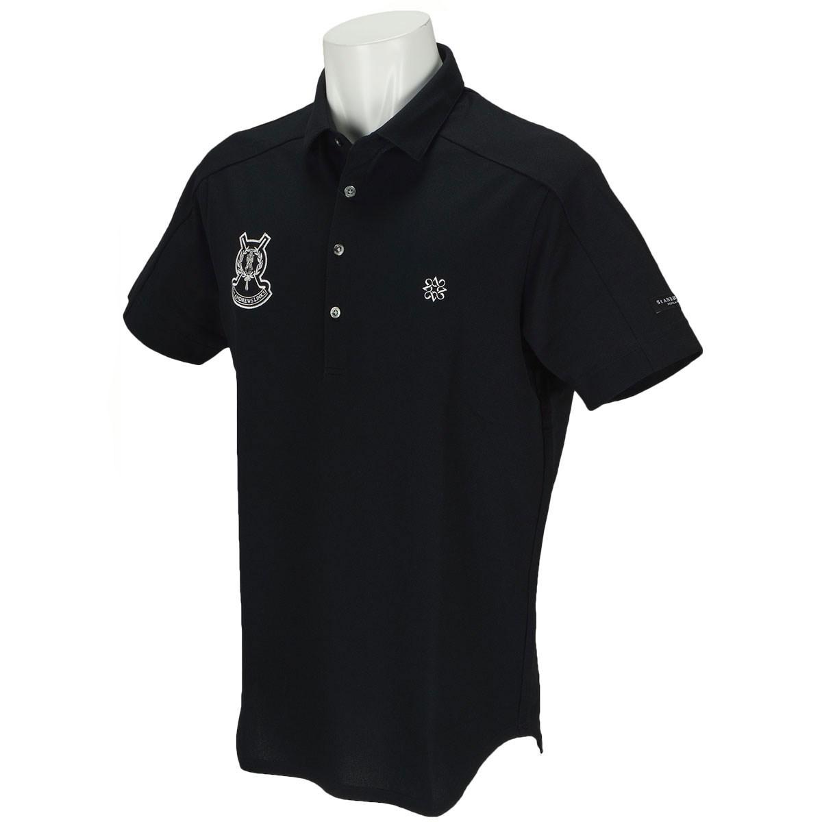 セント・アンドリュース COOLMAX ピラミッド鹿の子 半袖ポロシャツ