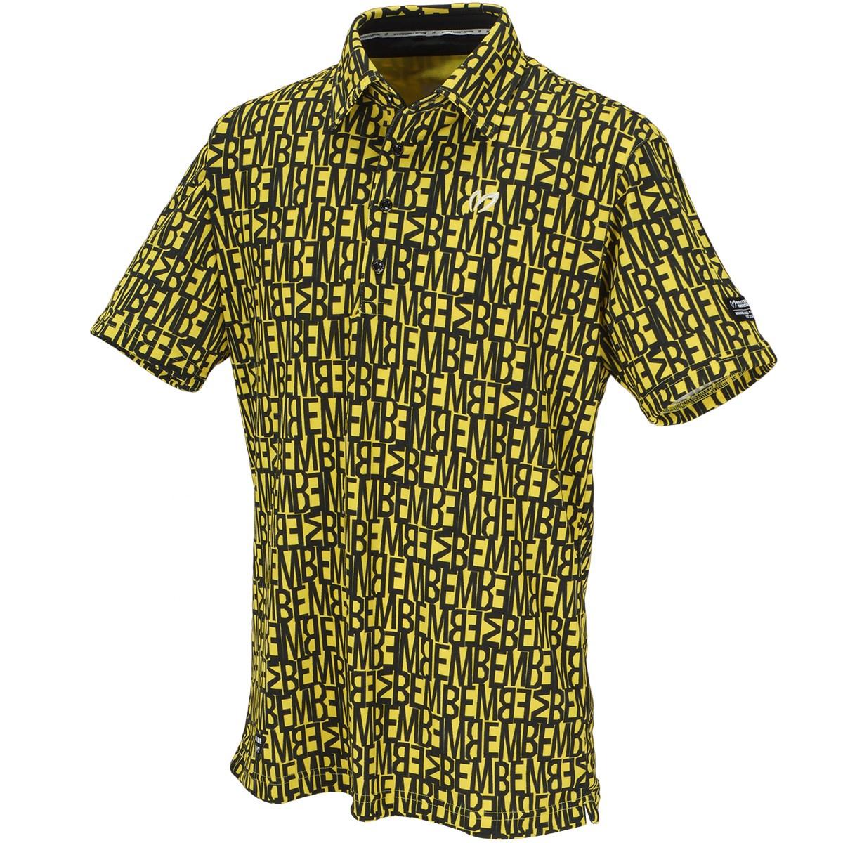 マスターバニーエディション MBEプリント 鹿の子インレイ 半袖ポロシャツ