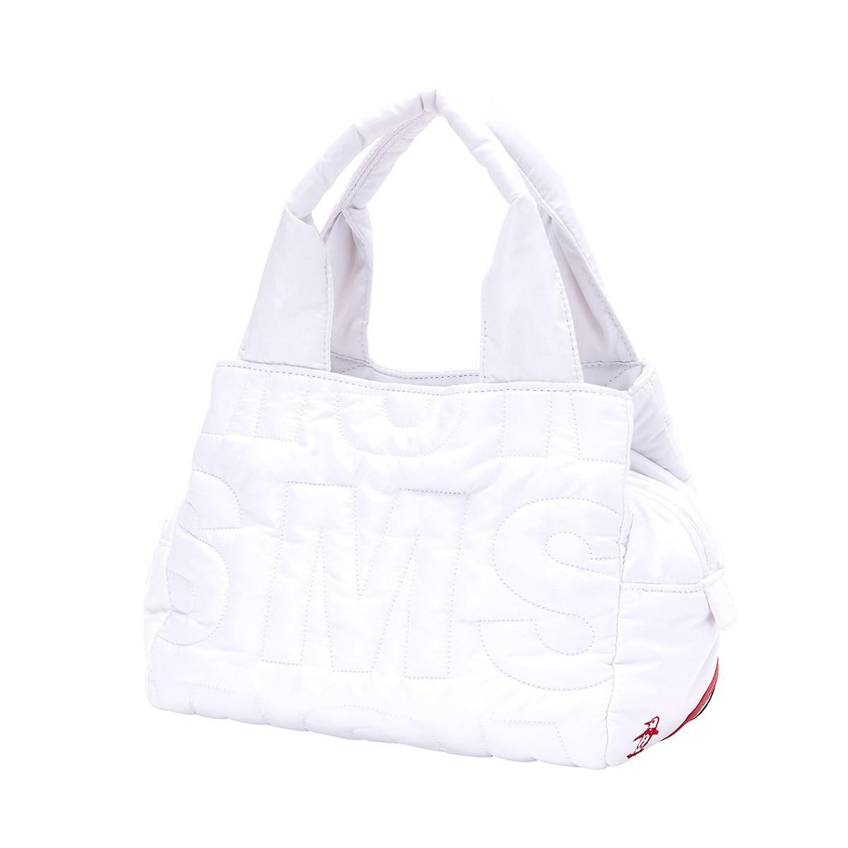 マンシングウェア Munsingwear ポーチ ホワイト 00