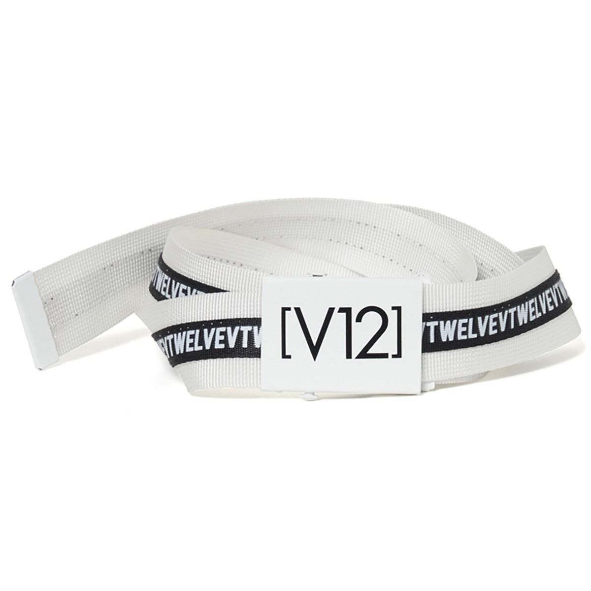 ヴィ・トゥエルヴ V12 ベルト フリー ホワイト
