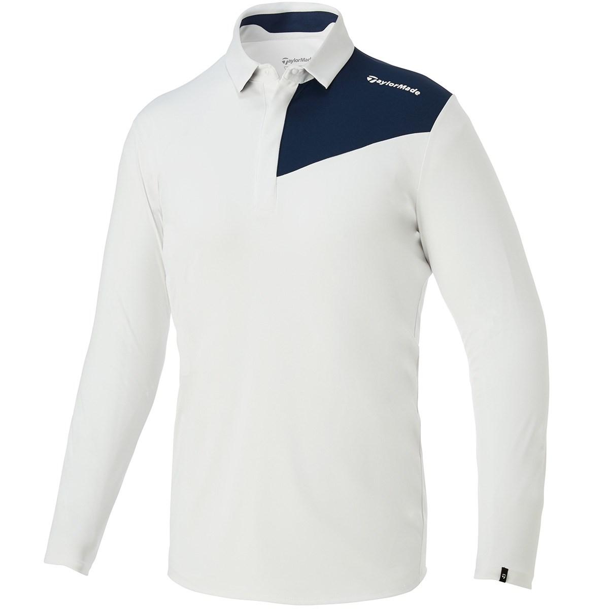 テーラーメイド(Taylor Made) ストレッチ バイカラー長袖ポロシャツ