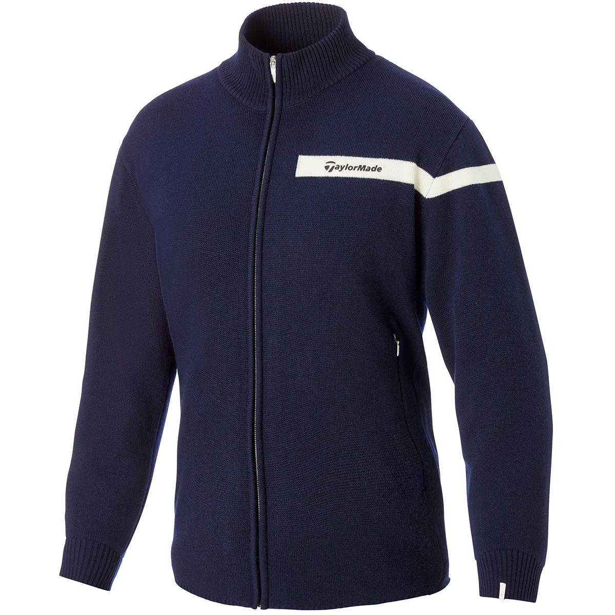 ウールブレンド セーターラインドジャケット