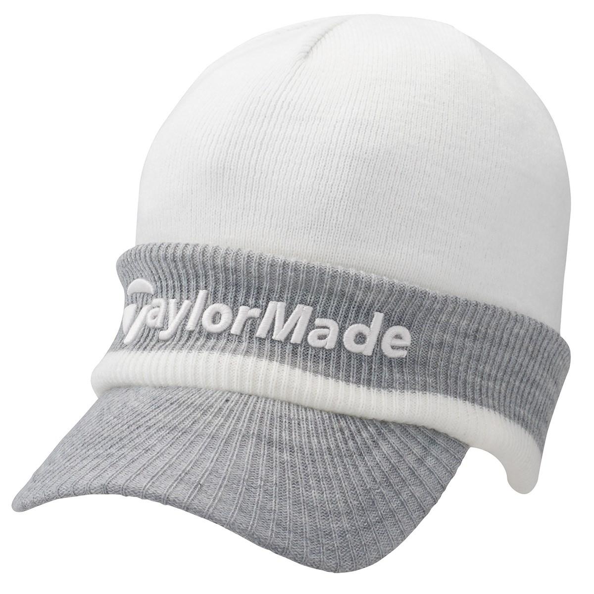 テーラーメイド Taylor Made ブリムビーニー フリー ホワイト/グレーヘザー