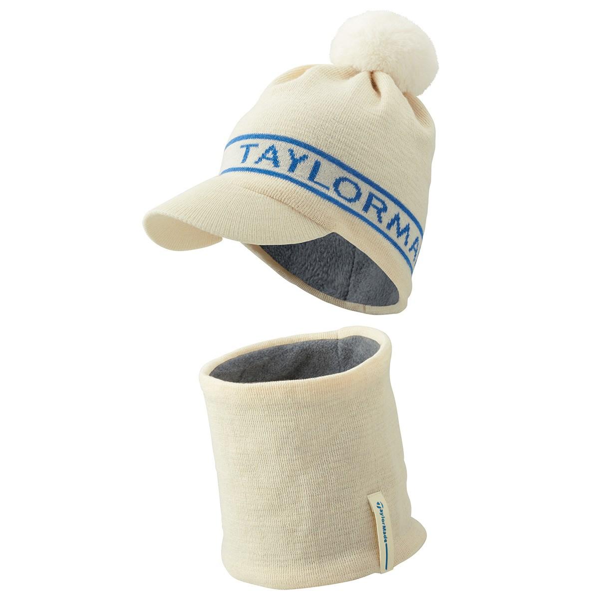 テーラーメイド Taylor Made ニットキャップ&ネックウォーマー フリー ホワイト レディス