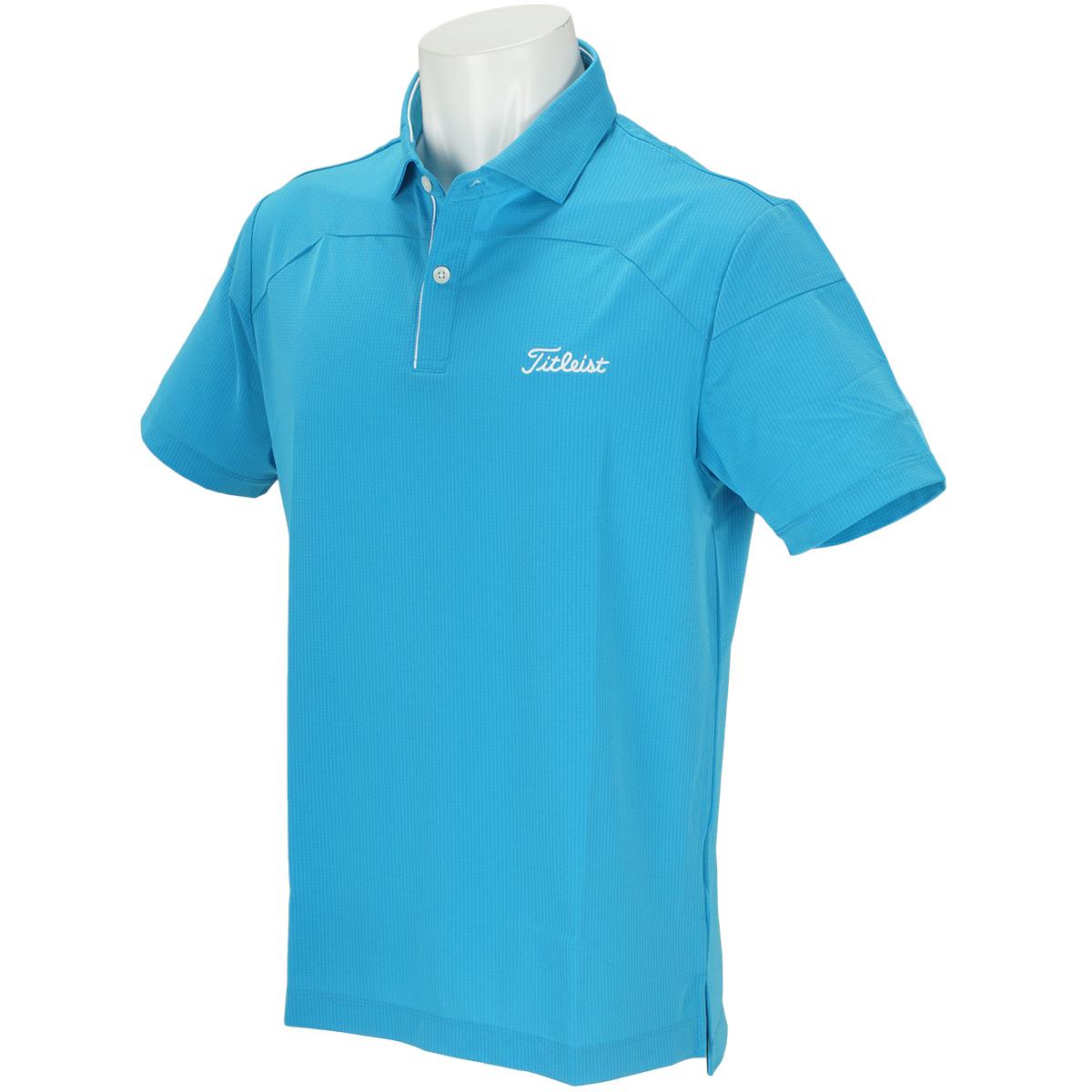 ストレッチ リップ半袖ポロシャツ
