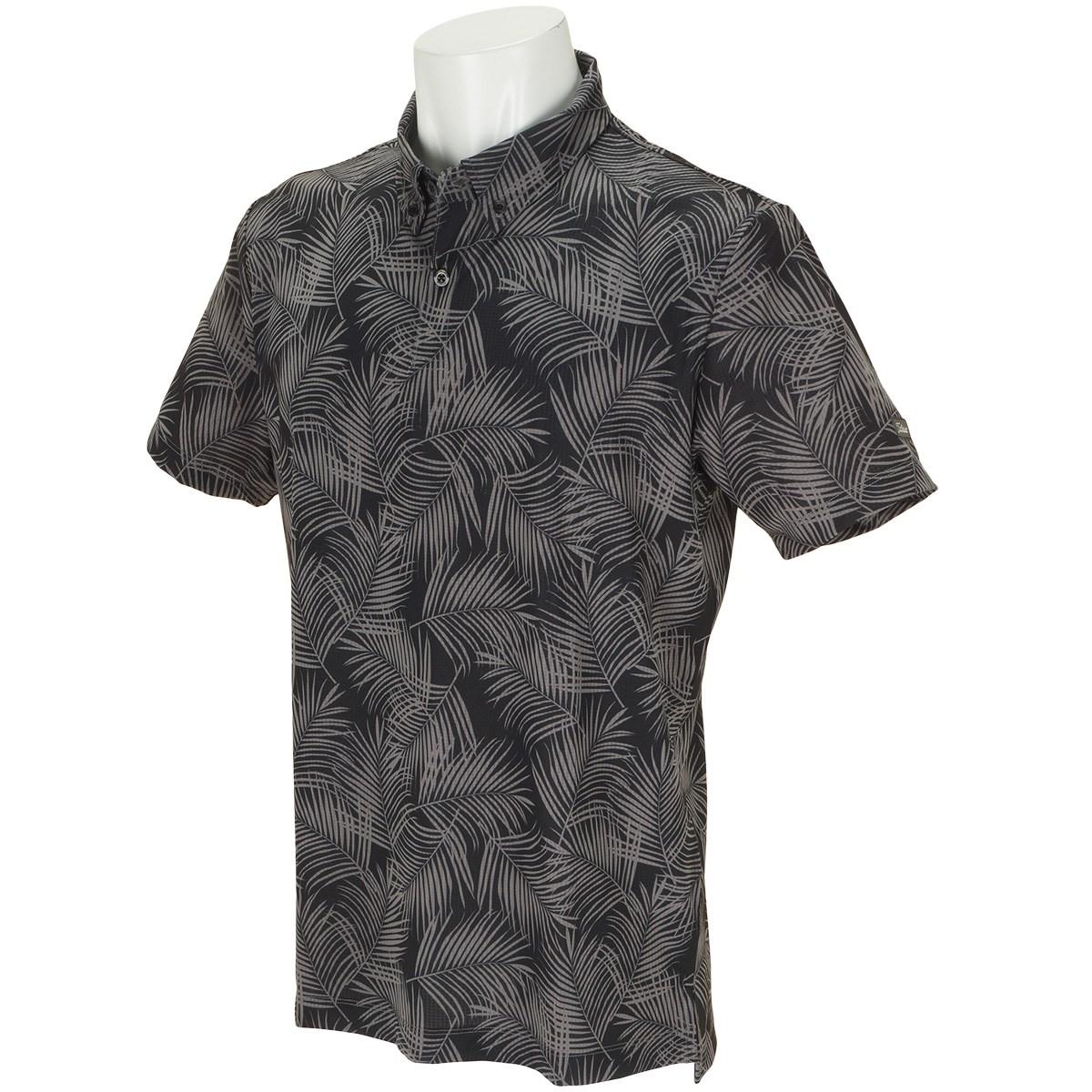 タイトリスト(Titleist) ストレッチ  パームツリープリント半袖ポロシャツ