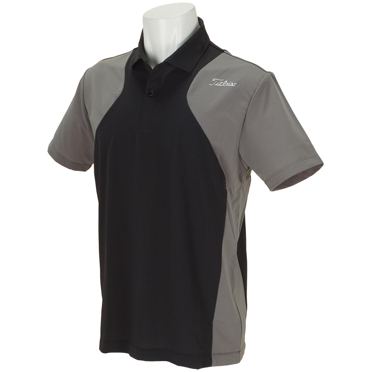 ストレッチ リップシャツベンチレーション 半袖ポロシャツ