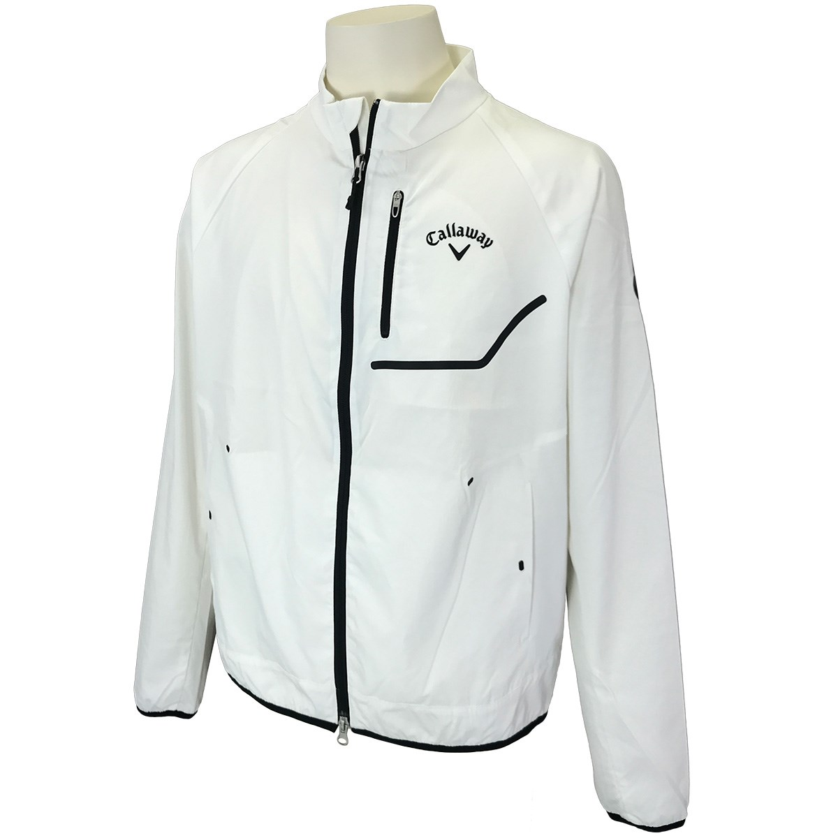キャロウェイゴルフ Callaway Golf フルジップボックスブルゾン M ホワイト 030
