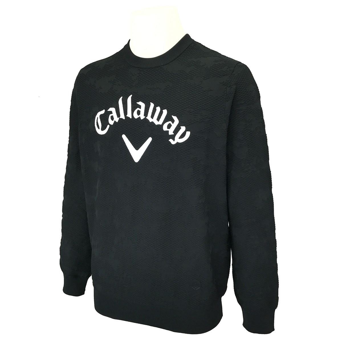 キャロウェイゴルフ(Callaway Golf) 雲柄ジャガード撥水セーター